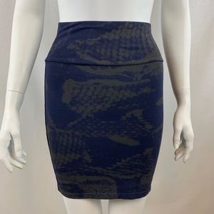 Aritzia Talula Bandage Mini Skirt Size Small